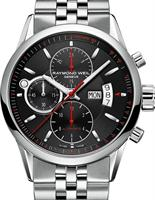 RAYMOND WEIL FREELANCER AUTO CHRONO BLK/RED