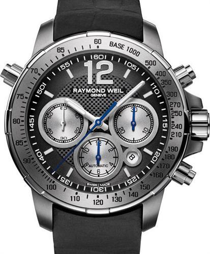 Nabucco Steel And Titanium 7700 Tir 05207 Raymond Weil Nabucco
