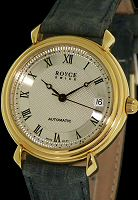 Specials ROYCE GOLD TONE SILVER DIAL
