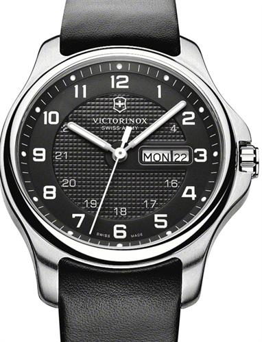 Officer S Day Date Black 241549 1 Victorinox Swiss Army