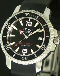 660 Quartz Black Rubber T19 1 491 52 Tissot Diver