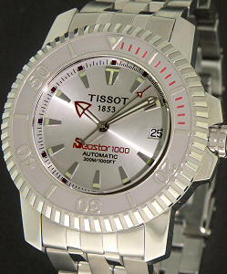 Pre-Owned TISSOT SEASTAR 1000 AUTOMATIC STEEL