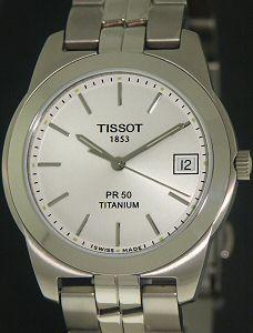 pr 50 titanium t34 7 481 31 tissot pr50 wrist watch rh righttime com Titanium Watches Men Tissot Tissot PRC100 Titanium