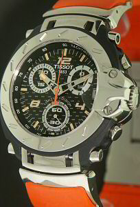 c1709bbae54 Limited Edition Nicky Hayden t90.487.68.2 - Tissot T-Race wrist watch.  Sorry