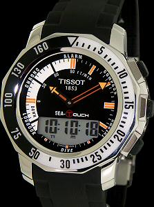 sea touch black dial rubber t026 420 17 281 01 tissot t touch rh righttime com T-Touch Expert Titanium Tissot Touch Expert Manual