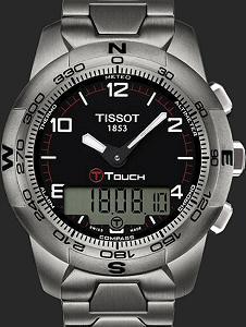 T Touch I I Titanium Black T0474204405700 Tissot T