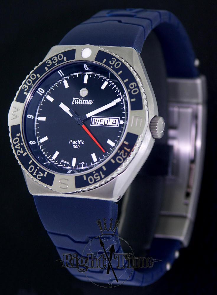 Tutima Pacific 300 Diver Blue 629 17 Tutima Military